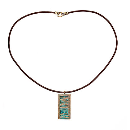MLK Bronze Necklace