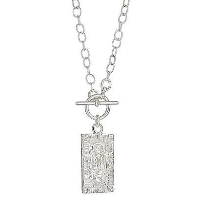 Lexington Brick Toggle Necklace