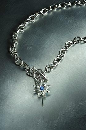 Pinwheel Toggle Necklace