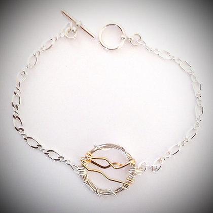 Blue Ridge Skyline Bracelet