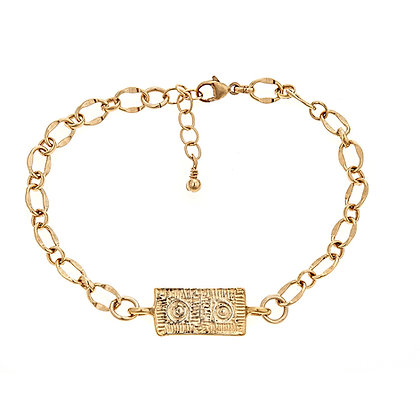 Lexington Brick Link Bracelet