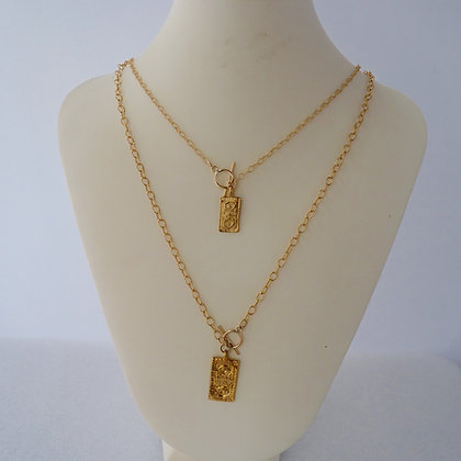 kay toggle yellow chain scott gold silver sterling necklace