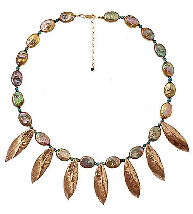 Rhododendron Necklace