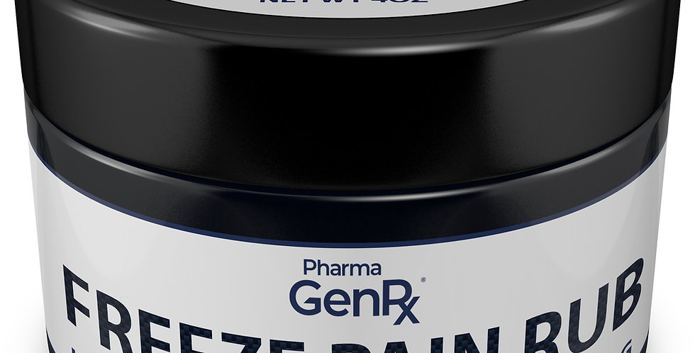 FREEZE Pain Rub Cold Therapy Pain Relief 500MG