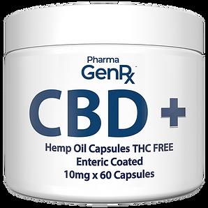 CBD hemp oil capsules THC Free White.png