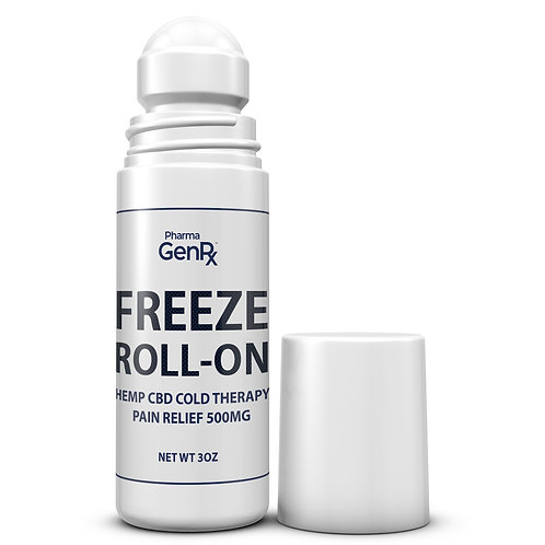 FREEZE Roll-On Cold Therapy Pain Relief 500MG