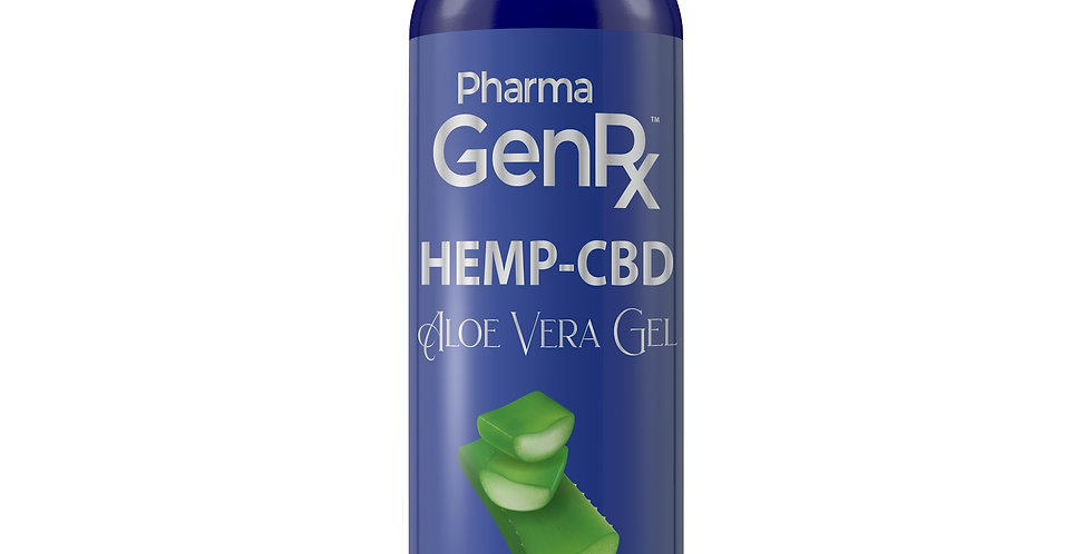 Hemp CBD Aloe Vera Gel - After Sun Care