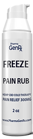hemp freeze cbd muscle cream for pain