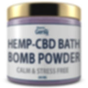 Bath Bomb Powder - Calm _ Stress Free 1.