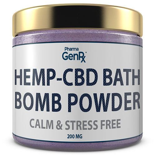 CBD Bath Bomb Powder