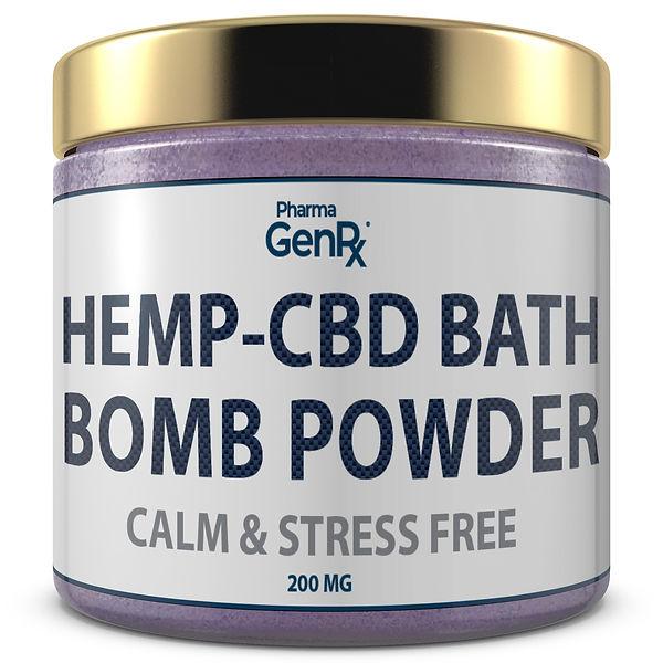 Bath Bomb Powder - Calm _ Stress Free 1.