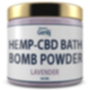 Bath Bomb Powder - Lavender b.jpg