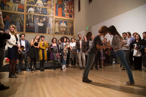 Live Performance at Diego Rivera Gallery