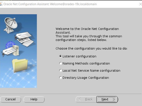 Configuring and Creating the Oracle Net Listener
