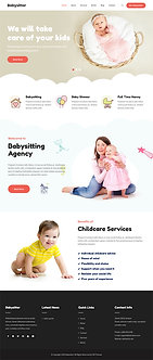 Babysitter Lite WordPress themes