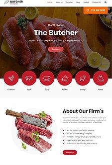 Butcher Lite is  WordPress