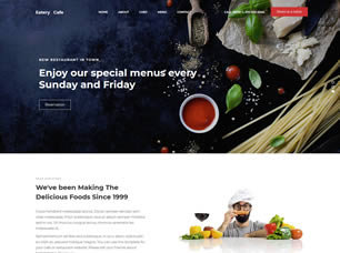 Eatery Website