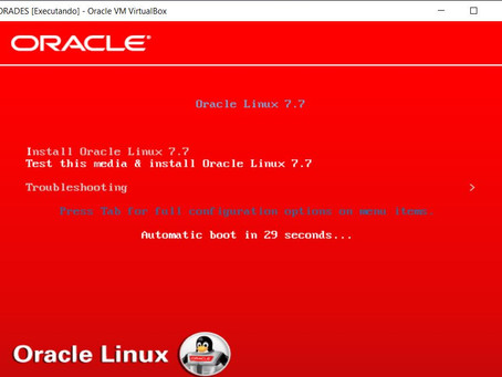 Installing Oracle Linux 7
