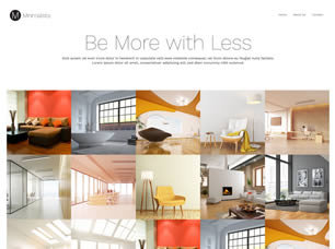 Minimalista Website