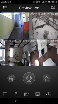 APP DVR telecamere