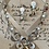 Thumbnail: Natural seashells, mother pearl  necklace and earrings set