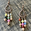 Thumbnail: Colorful Bold Glass Beads necklace & earrings set