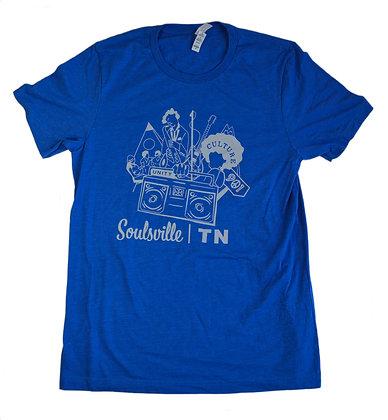 Memphis Rox + Pebble Wrestler Co. Collab Shirt