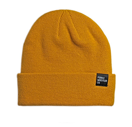 Cool Conditions Beanie | Mustard