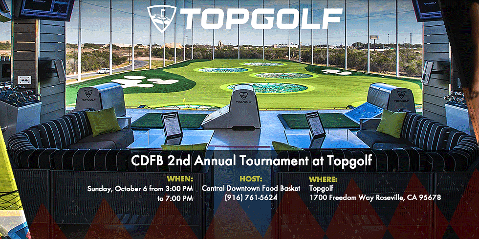 CDFB 2nd Annual Tournament at Topgolf