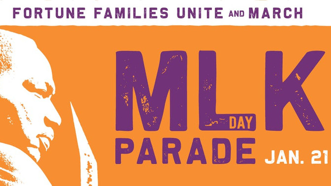 Join us for the Martin Luther King Jr. March on January 21st!