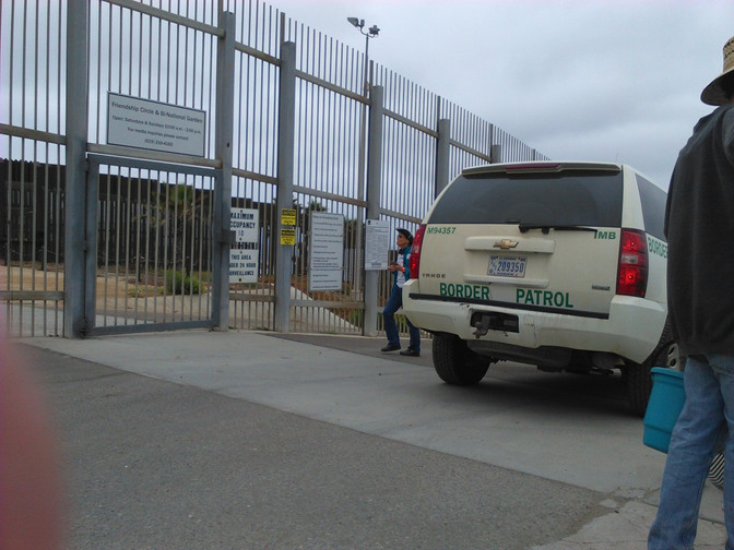 A Reflection on the Action at the Otay Mesa Detention Center