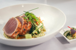 Food Seared Tuna