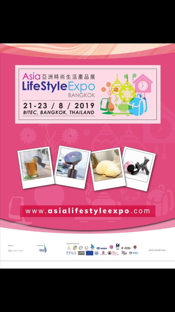 OOK @Asia LifeStyle Expo Bangkok Aug.2019