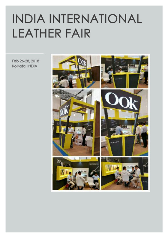 OOK zipper@INDIA International Leather Fair