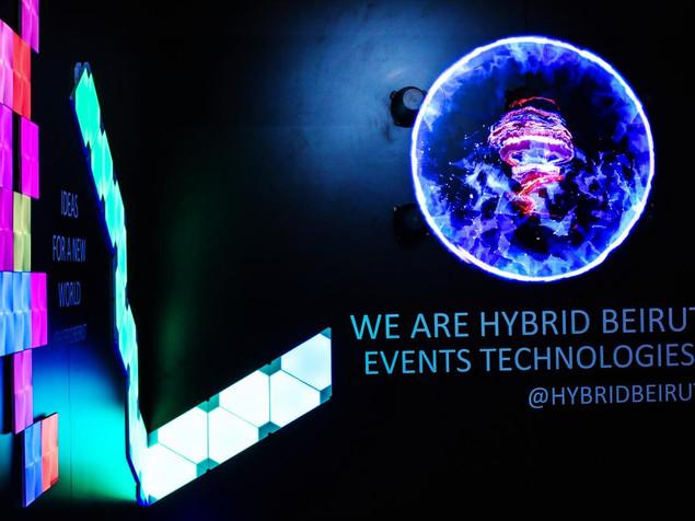 Hybrid booth - Smartex