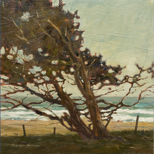 TREE BY THE SEA           SOLD