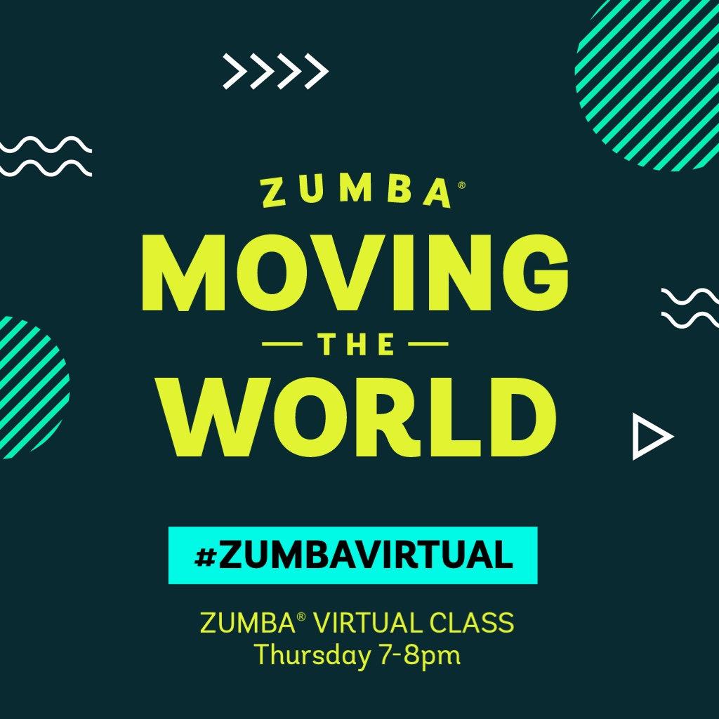 Zumba Fitness Live Stream MDX- Thursdays