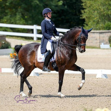 Jennifer Schrader-Williams Holds on for the Win in USEF Grand Prix Dressage National Championship