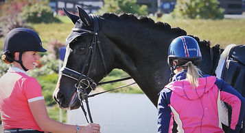 Charlotte Dujardin & Jennifer Williams