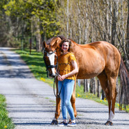 Brianna is our head groom and assistant rider