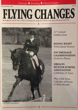 Jennifer Williams featured in Flying Changes