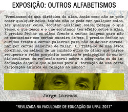 OUTROS ALFABETISMOS
