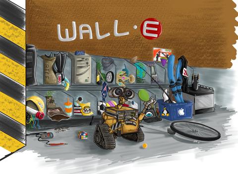 Wall-E Workplace Possession