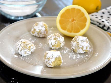 Vegan Lemon Truffles