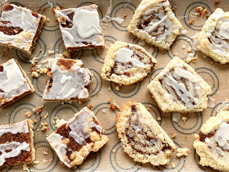 Vegan Cinnamon Swirl Cookies