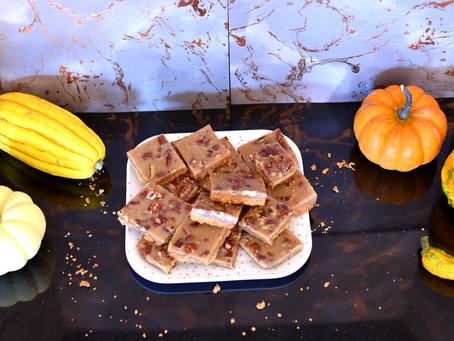 Vegan Maple Pecan Bars