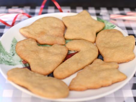 Day 11: Vegan Sugar Cookies