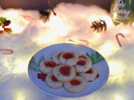 Day 10: Vegan Thumbprint Cookies