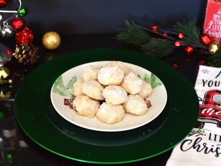 Day 4: Vegan Lemon Snowball Cookies