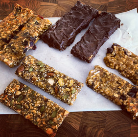Vegan Homemade Granola Bars
